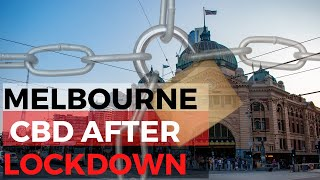 Latest Melbourne Lockdown Video: Streets of Melbourne After Lockdown