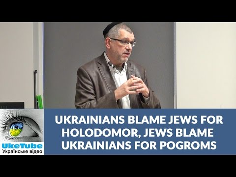 Defeating stereotypes about Jews & Ukrainians