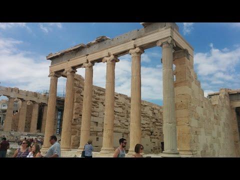 Greece - Athens - Acropolis Temple of Athena