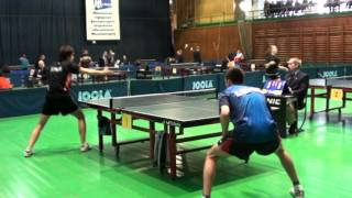 Настольный теннис. Чемпионат Москвы-2012. День 2 Часть 1(Moscow Table Tennis Championships 2012. Final. Day 2. Part 1. Comments and interviews are in Russian!!! Чемпионат Москвы 2012 г. по настольному ..., 2012-01-31T03:56:55.000Z)