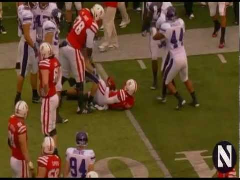 Northwestern Wildcats vs Nebraska Football Highlights