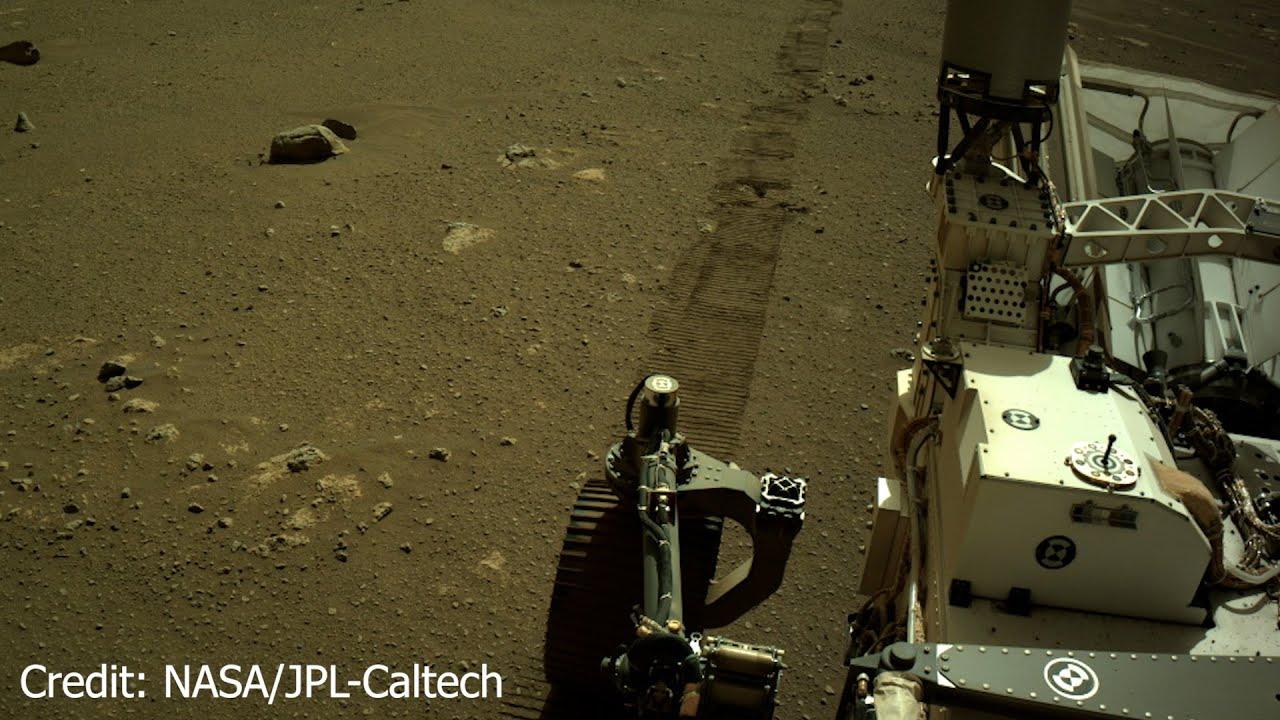 Mission Mars 2020 News - Töne vom Mars - Fahrgeräusche des Rovers Perseverance