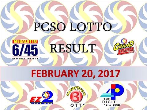 lotto 45 result