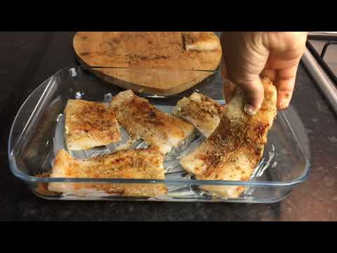 OVEN BAKED FISH FILLET | Baked Cod Fish QUARANTINE LOCKDOWN RECIPE