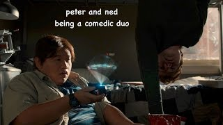 peter and ned being a comedic duo