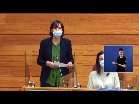 """Ana Pontón: """"Estamos nun momento excepcional que require dos gobernos respostas excepcionais"""""""