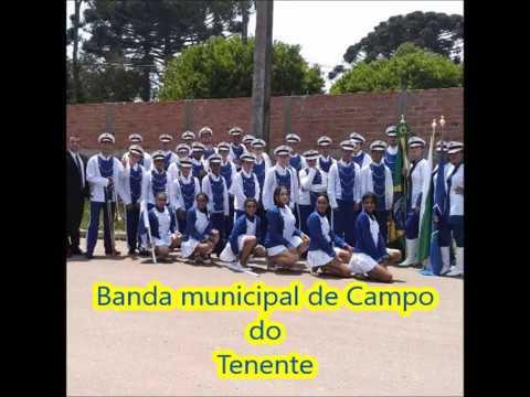 """Banda municipal de Campo do Tenente / """"Esporte espetacular"""" / Tempo de alegria."""