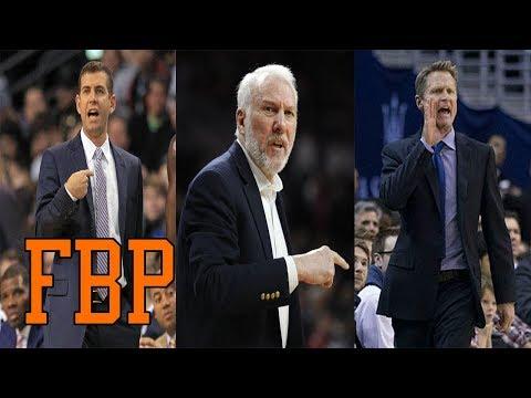 Ranking All NBA Head Coaches Coming Into 2017-18 (1-10)