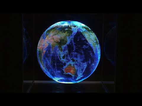Globe spin up demo