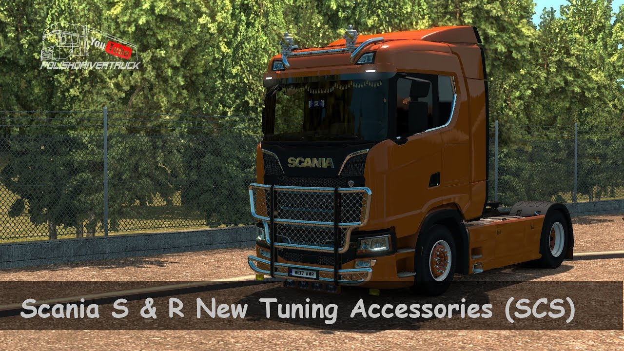 ets2 s r new tuning accessories. Black Bedroom Furniture Sets. Home Design Ideas