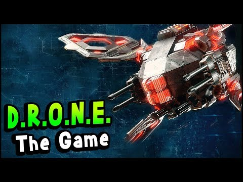 CREATE & FIGHT Your Own DRONES & Build Custom Arenas - D.R.O.N.E. The Game Gameplay