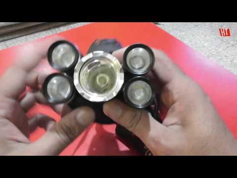 5x CREE T6 Super Headlamp LED