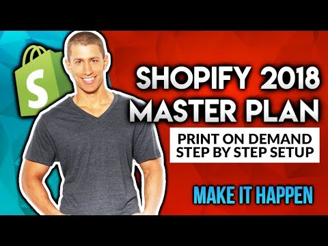 Step By Step Shopify Print On Demand Setup Tutorial 2018