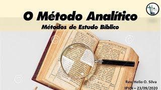 Estudo 8 - O Método Analítico