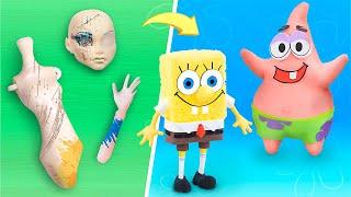 인형 놀이는 영원히! 9가지 바비와 디즈니 만들기