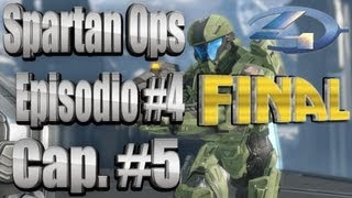 "Halo 4 Spartan Ops - Capitulo #5 Ep.#4 FINAL ""The Didact´s Gift"" HD Temporada #1"