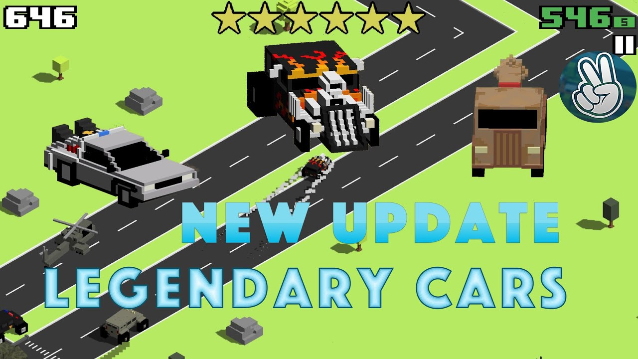 Smashy road wanted unlock all new legendary cars youtube sciox Image collections