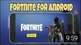 #3 How to download FORTNITE on Android J1 . J2 . J5 AND G7 . GRAND PRIM E AND INFINIX #3