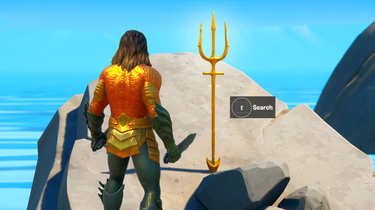 Claim Free Trident Pickaxe at Coral Cove Challenge Reward (Aquaman Week 5)