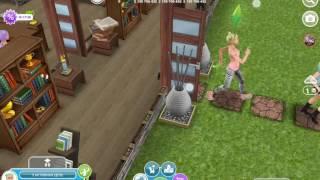 Сериал в игре  Sims FreePlay 1 сезон продолжение 2 серии девчачья школа