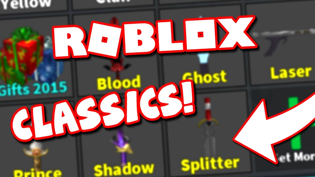 MY CLASSIC KNIFE COLLECTION (Roblox Murder Mystery 2