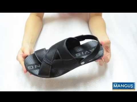 Купить мужские кожаные сланцы Bison С73402 - YouTube