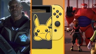 Xbox Didn't Need Crackdown 3? + Pokemon Edition Switch Incoming + Big Hero 6 in Kingdom Hearts 3