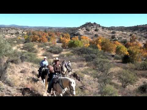 Horseback Riding the Trails of the Verde Valley, near Sedona, Arizona