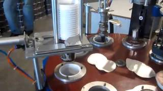 Оборудования для розлива и запайки в пластиковые стаканы (сметана,  компот,  желе, тан,  и.т.д)