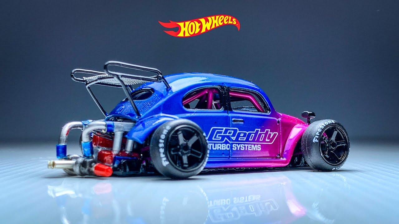 Volks Wagen Beetle Hot Wheels Custom