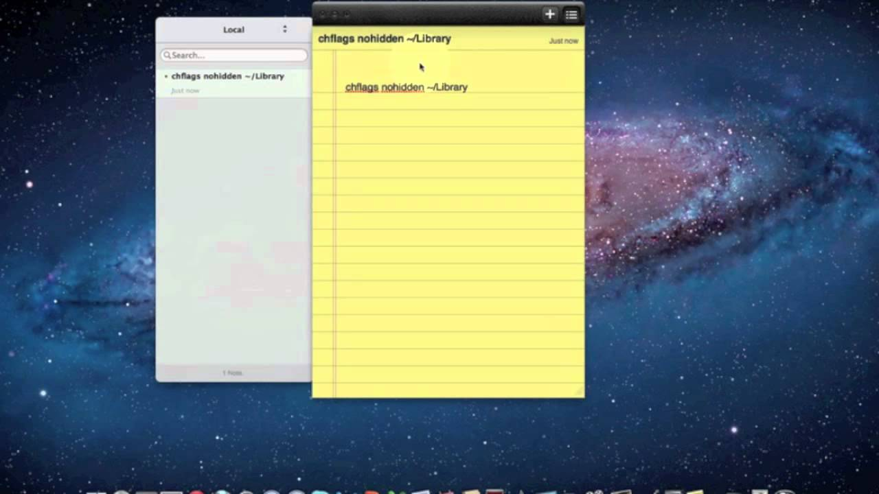 how to make folders on a mac in straight line