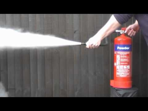 Fire extinguisher test - YouTube