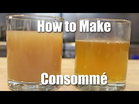 How To Make Consomme