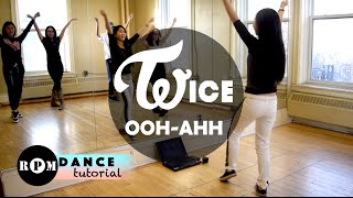 "Twice ""Like Ooh-Ahh"" Dance Tutorial (Chorus and Breakdown)"