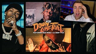 Miniminter Reacts to KSI - Down Like That feat. Rick Ross, Lil Baby & S-X