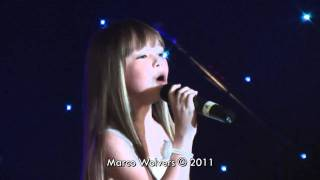 Connie Talbot - Joseph Foote Charity Ball - Footprints in the sand
