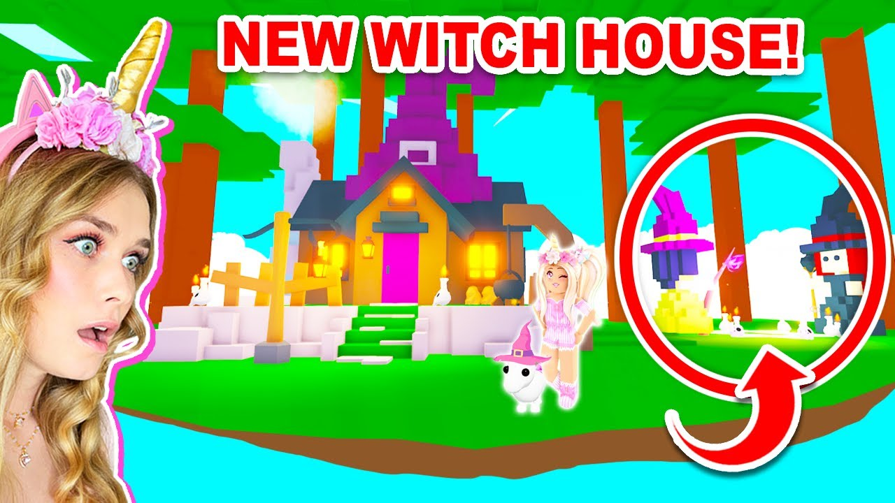 Download *NEW* WITCH HOUSE In Adopt Me! (Roblox)
