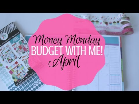 Budget With Me! {April 2017}  || How to Get Out of Debt
