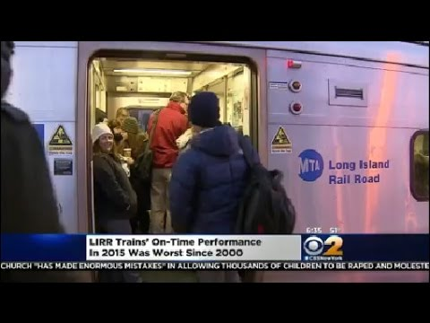 LIRR On-Time Performance Gets Worse