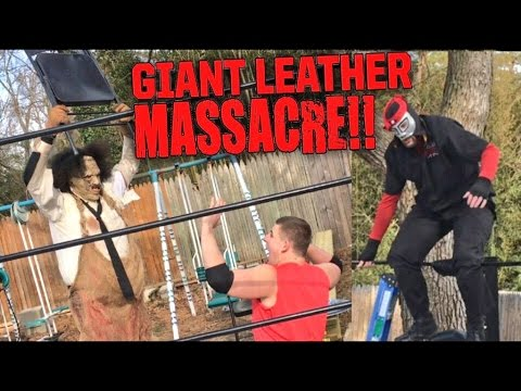 LEATHERFACE MASSACRES GTS WRESTLING U.S. CHAMPIONSHIP MATCH!