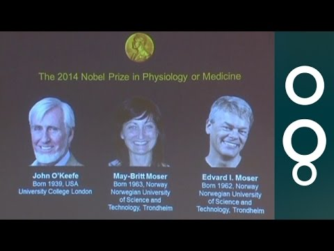 Nobel Prize For Medicine 2014 - Announcement And