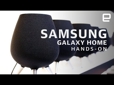 Samsung Galaxy Home at CES 2019: Another competitor in the smart speaker wars