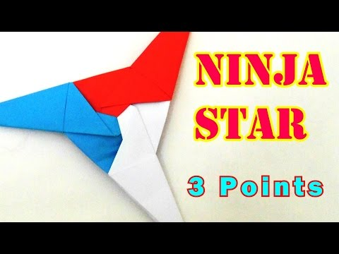 How To Make A Ninja Star In Paper How To Make A Ninja Star Step By ... | 360x480