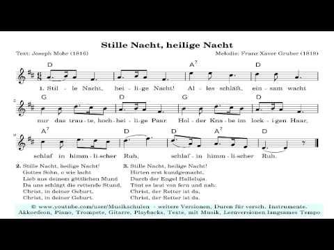 Kostenlose Midifiles Weihnachtslieder - Top download Link, z.B. versch. Versionen Heilige gratis