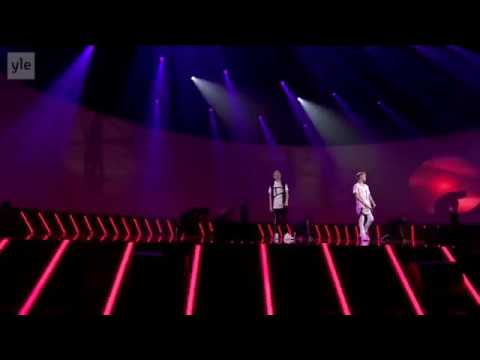Marcus & Martinus - bae, girls, light it up (live in Finland)