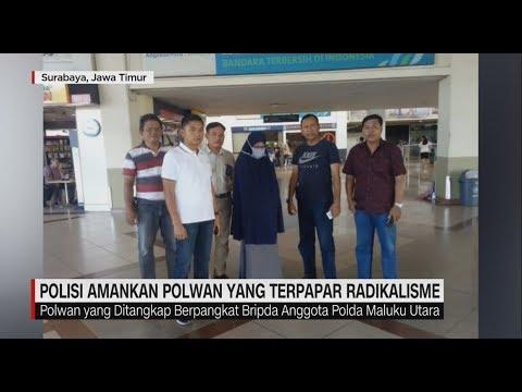 Polisi Tangkap Polwan yang Terpapar Radikalisme