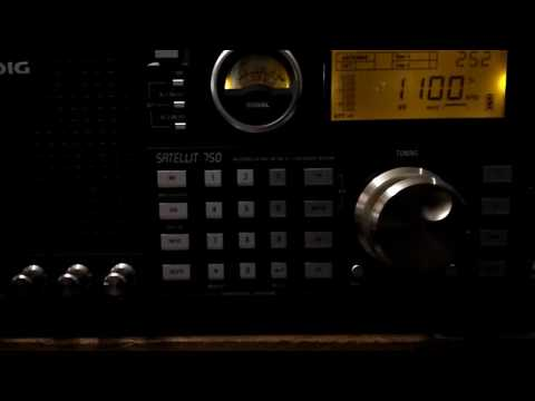 AM/MW DX of News Radio WTAM on 1100 kHz from Cleveland Ohio