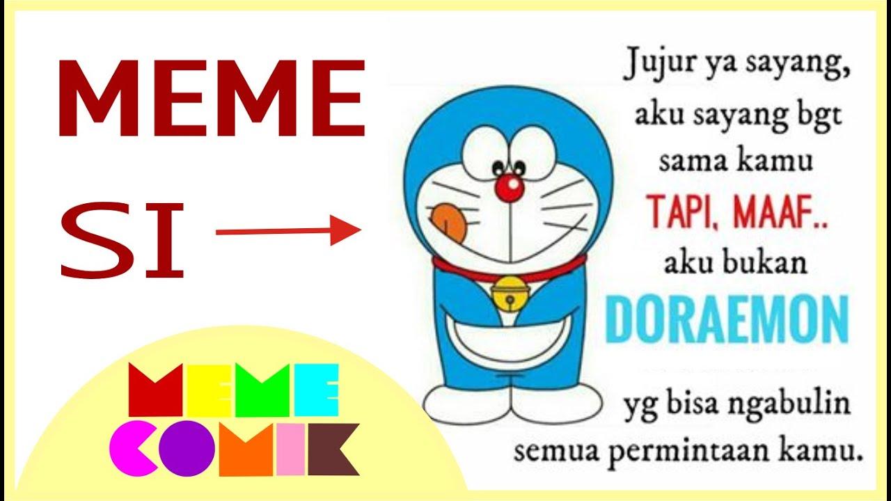 Meme Lucu Gambar Doraemon DP BBM Lucu Untuk Hari Ini