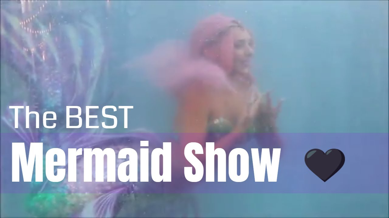 MERMAIDS SWIMMING IN A TANK AT Mermaid MegaFest 2018- HANNAH FRASER,  AQUAMERMAID & MORE VIDEOS ♥