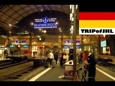 [TRIPofJHL] Traveling on a night train from Prague to Frankfurt